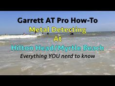In this video, I go over everything you need to know about using your AT Pro at the beaches of Hilton Head and Myrtle beach and probably most beaches on the east coast. I'll show you the specifics settings for ground balancing, sensitivity, iron disc etc. I also talk about the tides, public access, what you should expect to dig and more. I provide several tips and situations YOU WILL run into when using your AT Pro at the beach. Please subscribe and enjoy!