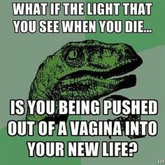 Seriously though!  What if it really is?  LOL!