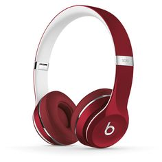 Beats Solo2 On-Ear Lightweight Headphones | Beats by Dre (5.785 UYU) ❤ liked on Polyvore featuring accessories, tech accessories, tech, beats by dr. dre and beats by dr dre headphones