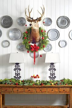 Our Best-Ever Holiday Decorating Ideas | Pinterest | Magnolia wreath and Holidays & Our Best-Ever Holiday Decorating Ideas | Pinterest | Magnolia wreath ...