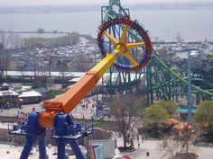 Rides at Cedar Point