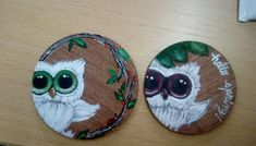 Cute owls...Neclaces 🙈💖 Handmade by me #anarodet