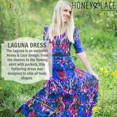 Honey & Lace Laguna Dress