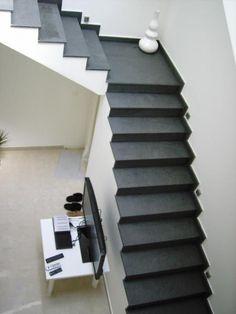 Durch die #Schiefer #Treppen Konstruktion lässt sich eine gemütliche Atmosphäre erzeugen.  http://www.treppen-deutschland.com/schiefer-treppen-moderne-schiefer-treppen