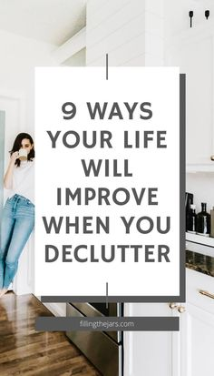 Perfect decluttering motivation to simplify your home, organize, and live clutter-free. Grab the free printable mini decluttering plan for tips to reduce the overwhelm of figuring out where and how to start uncluttering your stuff! Sell Your Stuff, Things To Sell, Clutter Free Home, Reasons To Live, Staying Organized, Decluttering, Simple House, Storage Solutions, Storage Organization