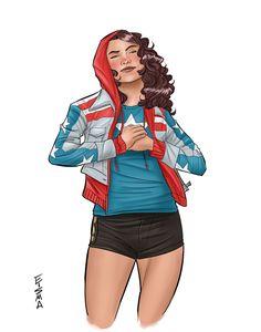 Miss America Chavez by Supajoe.deviantart.com on @deviantART
