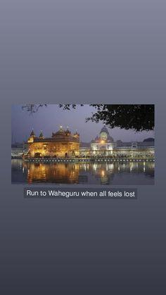 Sikh Quotes, Gurbani Quotes, Punjabi Quotes, Attitude Quotes For Girls, Good Thoughts Quotes, Enlightenment Quotes, Guru Nanak Ji, Guru Granth Sahib Quotes, Golden Temple Amritsar