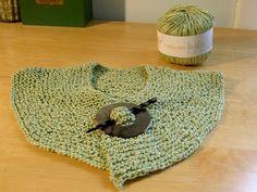 Harvey Street: Spring knitted collar