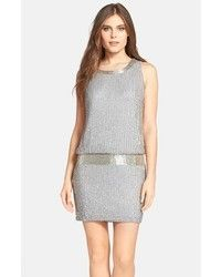 Carven Grey Wool Sleeveless Shift Dress. Buy for $700 at Avenue32.