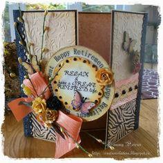 Handmade Cards (Scrapbooking) - Retirement Card