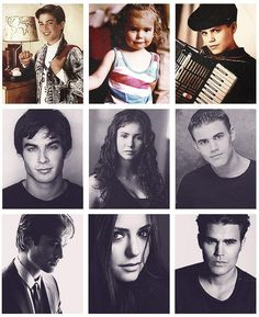 Ian, Nina, and Paul when they were little♥