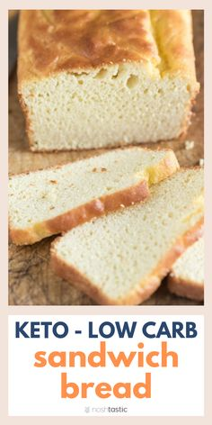 BEST Low Carb Keto Bread Recipe quick and easy Keto Sandwich Bread Recipe great taste and texture www noshtastic Source by Pintabian Austria Easy Keto Bread Recipe, Sandwich Bread Recipes, Lowest Carb Bread Recipe, Easy Bread, Recipe Breadmaker, Quick Sandwich, Best Low Carb Bread, Best Low Carb Recipes, Low Carb Keto