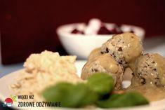 Więcej Niż Zdrowe Odżywianie Pulpety z mięsa i soczewicy - przepis na pyszny obiad Grains, Ice Cream, Eggs, Breakfast, Desserts, Food, Fitness, Diet, No Churn Ice Cream