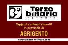 Oggetti e animali smarriti in provincia di Agrigento