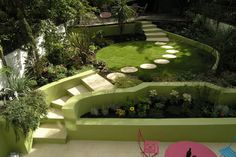 Dstudio caminos y senderos en el jardín
