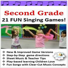 Elementary Music Games Grade Singing Games} by Stucki Education Station Music Sub Plans, Music Lesson Plans, Kindergarten Lesson Plans, Music Lessons, Singing Games, Music Games, Play Based Learning, Fun Learning, Secret Power