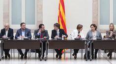 El president de la Generalitat, Carles Puigdemont, ha presidit la segona reunió del Pacte Nacional pel Referèndum (PNR), que es va constituir el 23 de desembre passat. També hi han assistit per part del Govern, el vicepresident i conseller d'Economia