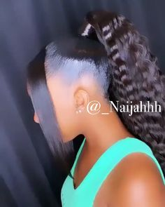 Most current Free 𝖕𝖎𝖓𝖙𝖊𝖗𝖊𝖘𝖙: Weave Ponytail Hairstyles, Baddie Hairstyles, My Hairstyle, Hairdos, Updos, Girls Natural Hairstyles, Black Girls Hairstyles, Birthday Hairstyles, Curly Hair Styles