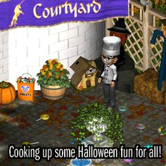 Chef bakes haunted gingerbread house as Halloween treat! #MVK #MyVirtualKingdom
