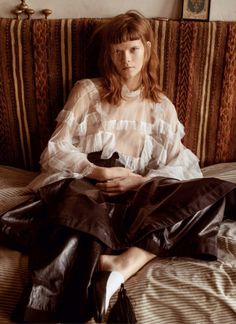 Irina Kravchenko by Sebastian Kim for Vogue Russia March 2016