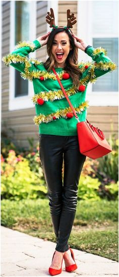 25 Superb Christmas Outfit Ideas To Try This Year - Instaloverz a5daa6b20