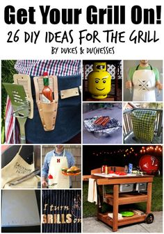 26 DIY ideas for the grill