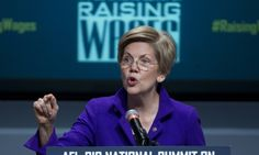 Middle class short-changed by US economic recovery, says Elizabeth Warren