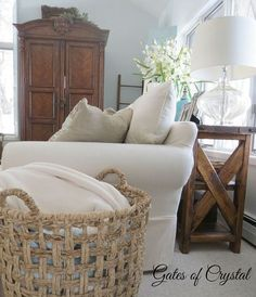 Vintage French Soul ~ our french country family room, living room ideas Country Family Room, French Country Living Room, French Country Bedrooms, Family Rooms, French Country Farmhouse, French Country Style, French Country Decorating, Cottage Decorating, French Cottage