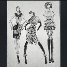 #CruelladeVil #dalmata #clothes #dalmataprint #blackandwhite #black #fashion #fashiondesigner #illustration #fashionillustration
