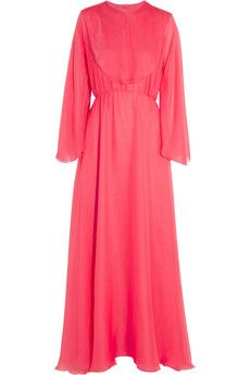 Valentino Silk-chiffon gown | NET-A-PORTER (Fairytale 2014)