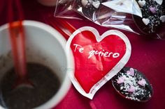 COMPARTIENDO MI PEQUEÑO MUNDO: CUCHARILLAS DE CHOCOLATE
