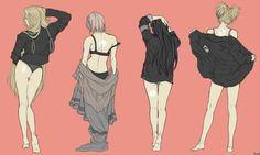 Ino, Sakura, Hinata, Temari