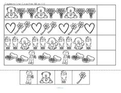 Orsett hall valentines day printable coloring pages ~ Pre-K, K, 1, 2 Math stuff on Pinterest | Number Bonds, Ten ...
