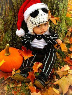 Jack Skeleton Hat Set... Nightmare Before Christmas...photo prop