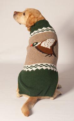 Handmade - Novelty Mallard Duck Dog Sweater