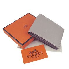 Hermes New Wallets H014 Grey