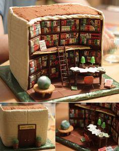 Amazing Library Cake