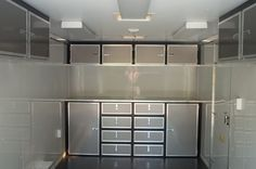 Enclosed Trailer Cabinets, Enclosed Trailers, Aluminum Trailer, Motorcycle Trailer, Toy Hauler, Trucks, Camping, Camper Ideas, Rv