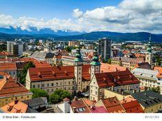 Städtereise Klagenfurt – in Kärntens eindrucksvolle Hauptstadt reisen Klagenfurt, Austria, Paris Skyline, Times Square, Travel, Viajes, Traveling, Tourism, Outdoor Travel