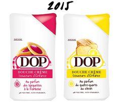 """Dop - Crème Douche Douceurs d'Enfance """"Framboise / Citron"""""""