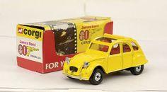 Mettoy Corgi Toys No.272 James Bond Citroen 2CV