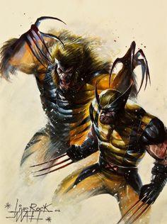 Wolverine vs Sabretooth by Francesco Mattina, cover artwork, Marvel comics, X-MEN, mutants Hq Marvel, Marvel Comics Art, Marvel Comic Books, Comic Book Characters, Comic Character, Comic Books Art, Comic Art, Comic Superheroes, Comic Pics