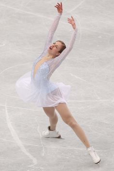 Carolina Kostner Photos - ISU World Figure Skating Championships: Day 2 - Zimbio