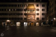 The Goldenes Dachl (Golden Roof) in Innsbruck