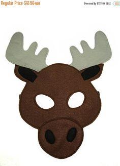 moose printable mask google search animal masks pinterest