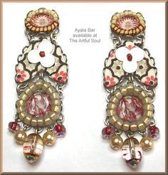 Ayala Bar Terra Rosa Earrings