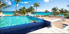 Coral Sands New Infinity Pool overlooking the pink sands beach on Harbour Island Pink Sand Beach, Bahamas Island, Turquoise Water, Sands, Infinity, Coral, Outdoor Decor, Beautiful, Infinite