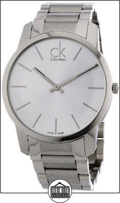 Calvin Klein K2G21126 - Reloj de caballero de cuarzo, correa de acero inoxidable color plata de  ✿ Relojes para hombre - (Gama media/alta) ✿
