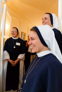 Every time you see a nun you should offer up a prayer for them. They pray for you and me ALL THE TIME!