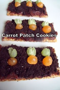 Carrot Patch Cookies